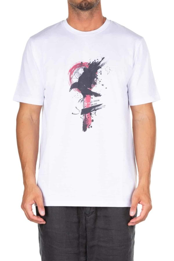 low priced 9ef86 f6914 T-shirt uomo Kaos in cotone con stampa